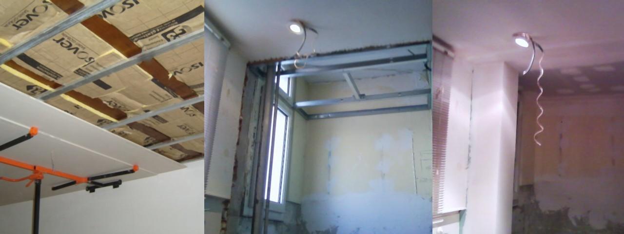 faux plafond annecy à ossatures non démontables